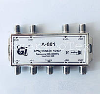 DiSEqC переключатель GI  A-801 8x1