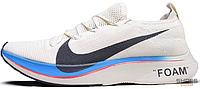 Женские кроссовки Nike Zoom Vaporfly 4% Flyknit Vast Grey Light Carbon AJ3857-004, Найк Зум