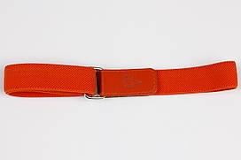 Ремінь дитячий гумка на липучці P15 Top Gal помаранчевий однотонні кольори в асортименті
