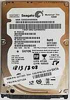 "Жесткий диск для ноутбука Seagate Momentus Thin 320GB 2.5"" 16MB 7200rpm (ST320LT007) SATAII 3Gb/s Б/У"