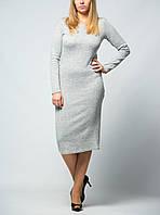 Платье женское гольф с длинным рукавом от бренда Adele Leroy
