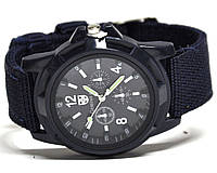 Часы мужские на ремне 123011