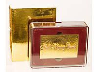 I5-65 Карты золото пластик, Подарочные карты, Игральные карты, Золотые карты, Карты пластиковые в коробке