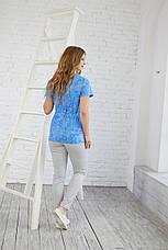 Женская медицинская куртка топ Божена - Жіноча медична куртка топ Божена - Одежда для косметолога, фото 3