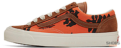Женские кеды Vans Style 36 Modernica Orange Hawaiian Print VN0A3MVMVQJ, Ванс Стайл 36 Модерника