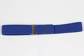 Ремінь дитячий гумка на липучці P15 Top Gal синій однотонні кольори в асортименті