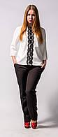 Костюм  для женщин блуза брюки от бренда Адель Леруа.