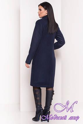 Удлиненное демисезонное пальто женское (р. S, M, L) арт. Габриэлла 7872 - 43799, фото 2