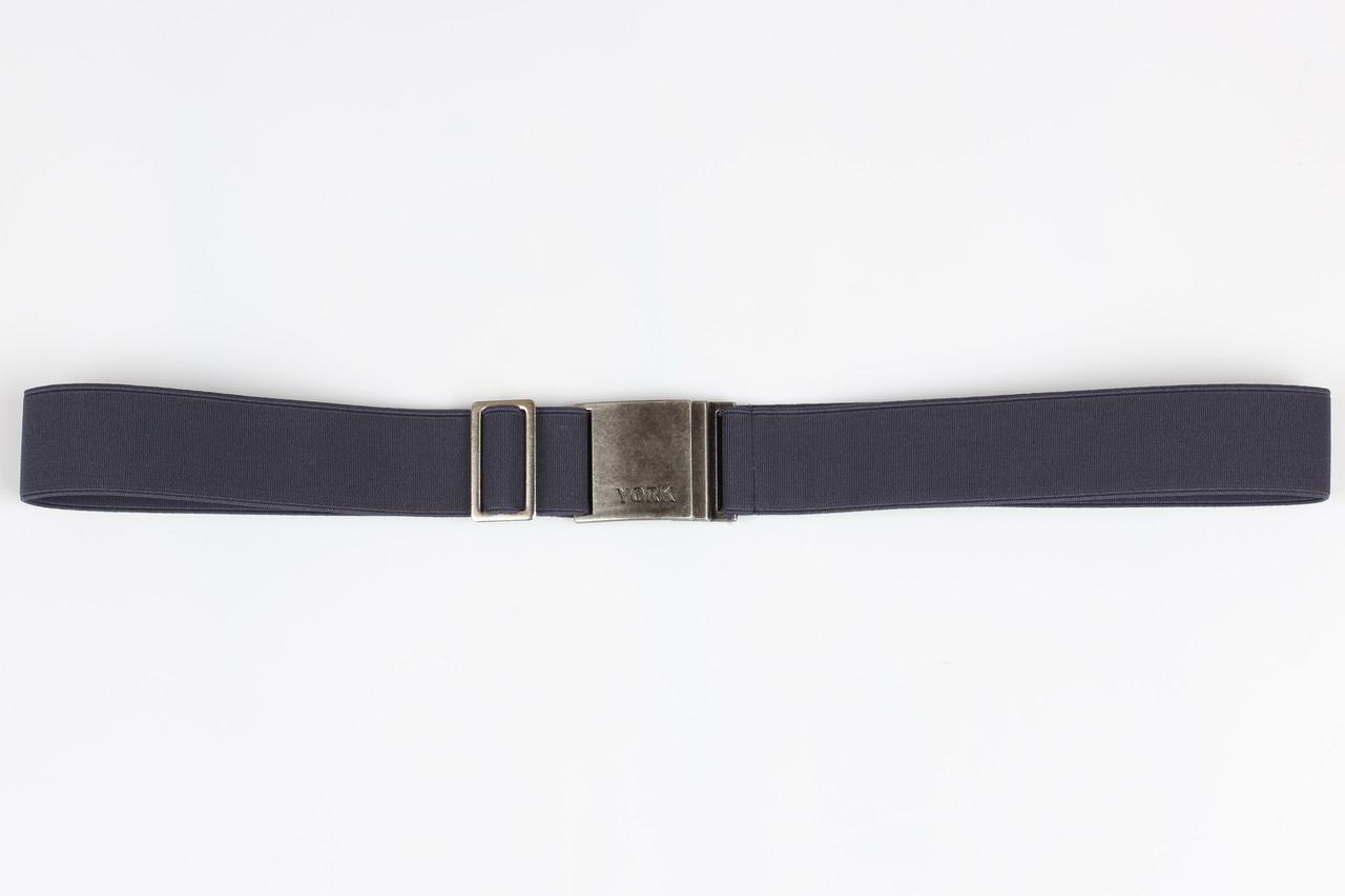 Ремень подростковый резинка P30 Top Gal темный джинс однотонные цвета в ассортименте