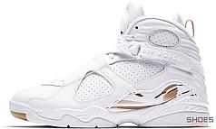 Мужские кроссовки Nike Air Jordan 8 Retro OVO White AA1239-135, Найк Аир Джордан 8