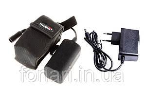 Аккумуляторный блок для велофар и налобных фонарей Trustfire 4000mAh Li-Ion 4x18650 + зарядка