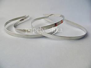 Обруч металевий 0,45 см срібний