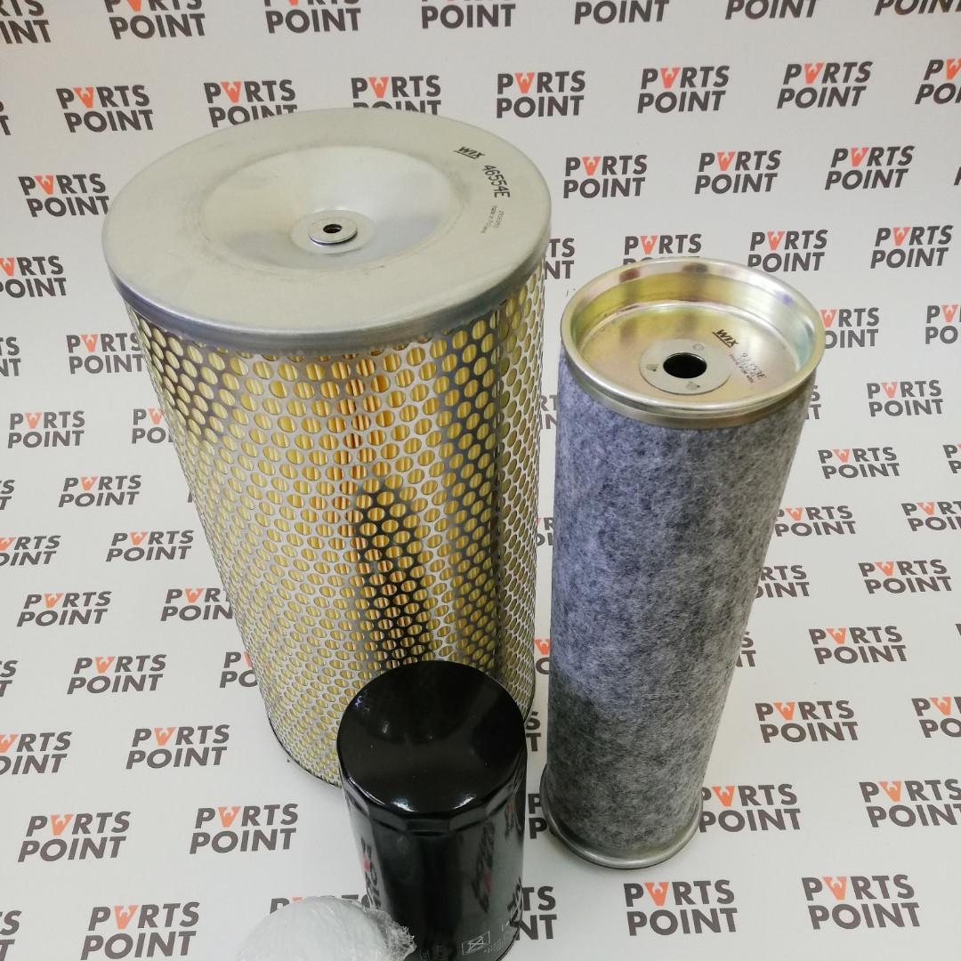 Комплект фільтрів на двигун Deutz (Дойц) 912-913 на перевантажувач Fucks 714