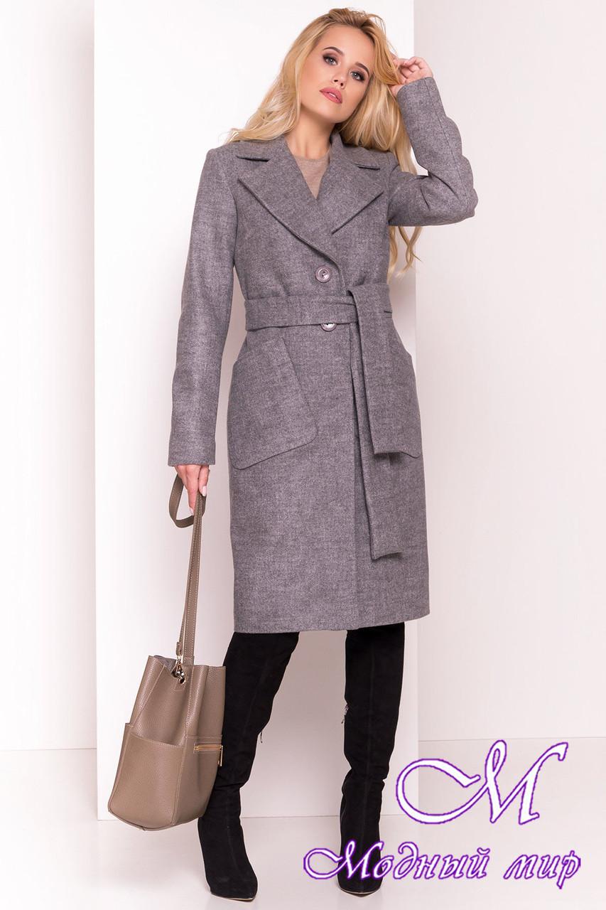 Удлиненное осеннее пальто женское (р. S, M, L) арт. Габриэлла 7872 - 43805