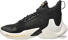 Мужские кроссовки Nike Air Jordan Why Not 0.2 Black White AO6219-001, Найк Аир Джордан Вай Нот
