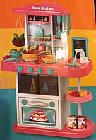 Детская игровая кухня Spraying Kitchen 889-152, течет вода, пар, доска, свет, звук, аналог