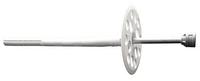 Дюбель для кріплення термоізоляції з металевим цвяхом та термоголовкою 10х120, D60, ЛІМ, подовжена розпірна частина