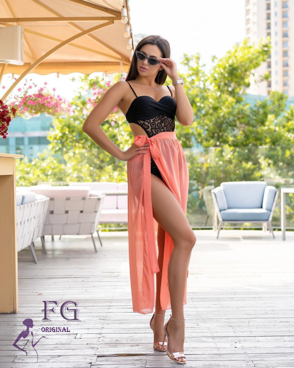 Пляжная юбка-парео 7 цветов