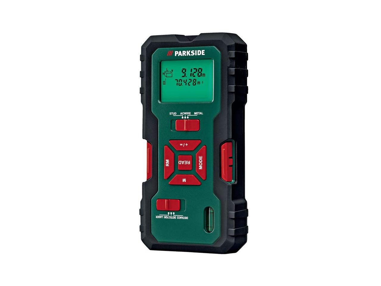 Многофункциональный детектор / лазерный дальномер PARKSIDE® PMML 5 A1
