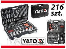 Профессиональный набор инструментов YATO 216 YT-38841