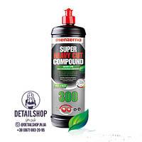 MENZERNA Super Heavy Cut Compound 300 Green Line Высокоабразивная полировальная паста 1 кг