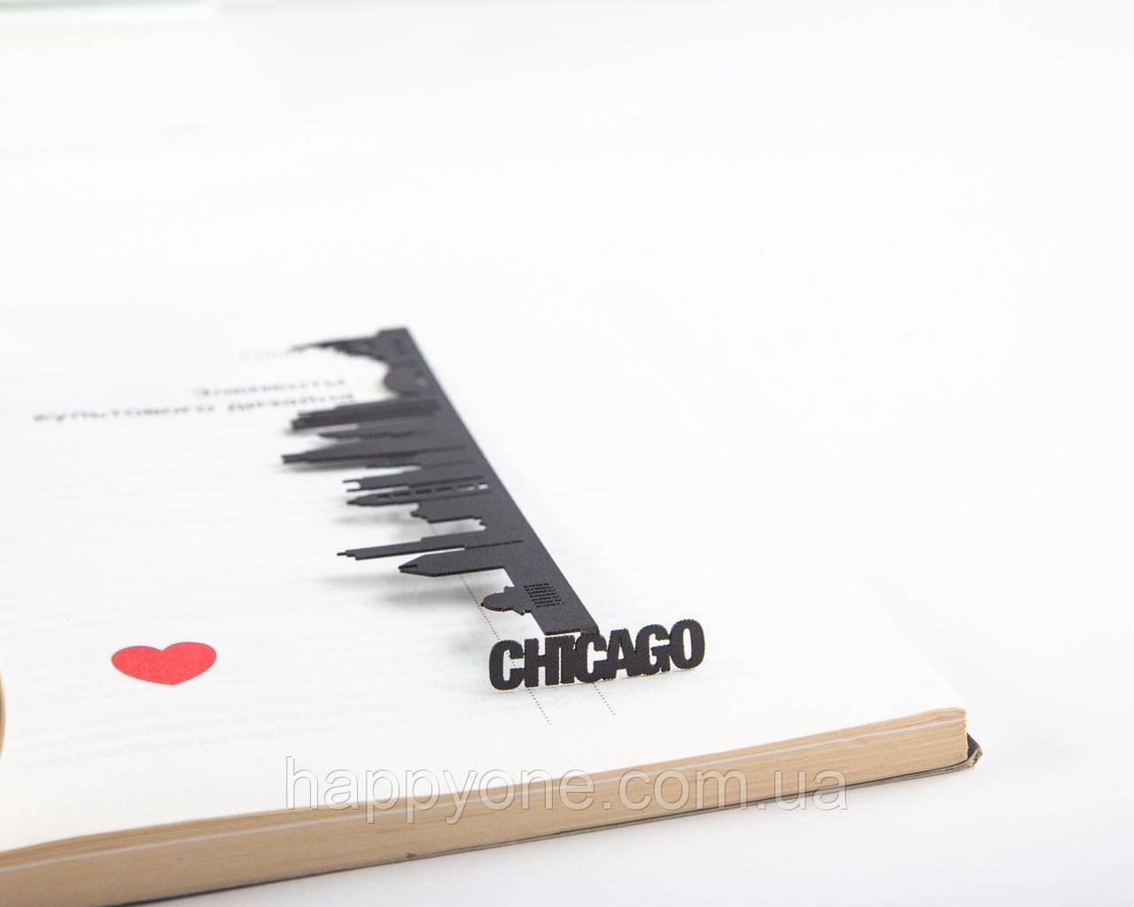 Закладка для книг Chicago
