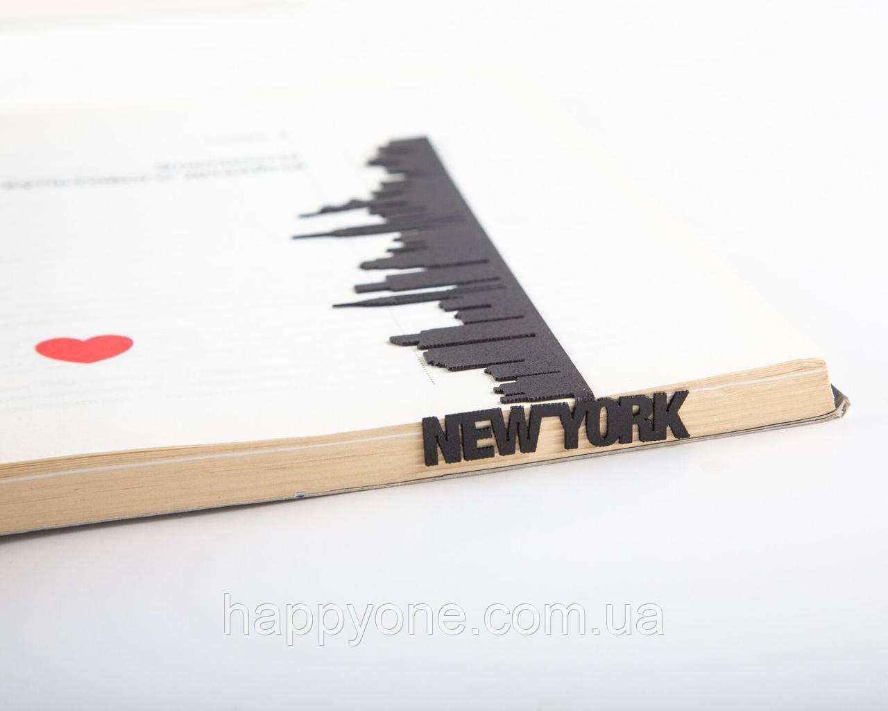Закладка для книг New York
