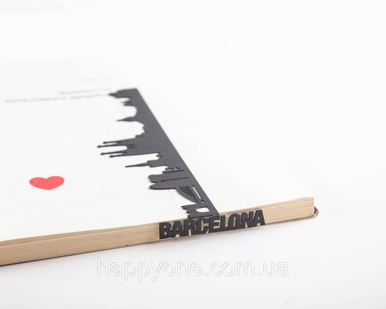 Закладка для книг Barcelona