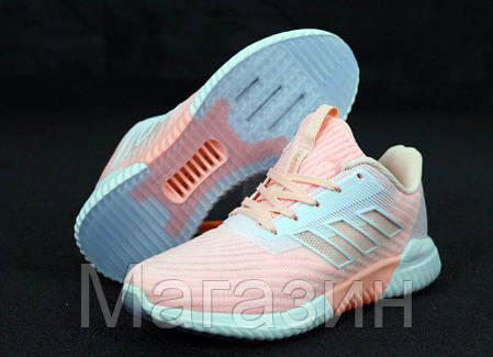 "Женские кроссовки adidas ClimaCool 2.0 ""Pink"" Адидас Климакул, Адідас Клімакул светло-розовые, фото 2"
