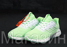 "Женские кроссовки adidas ClimaCool 2.0 ""Green"" (Адидас Климакул, Адідас Клімакул) светло-зеленые, фото 2"