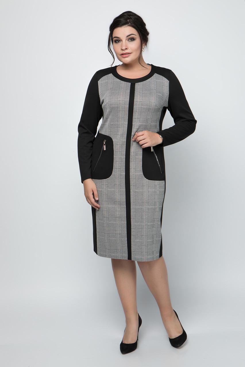 Платье Дресс код 50-60 черный