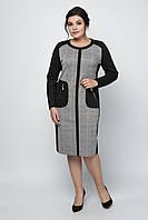 Платье Дресс код 50-60 черный, фото 1