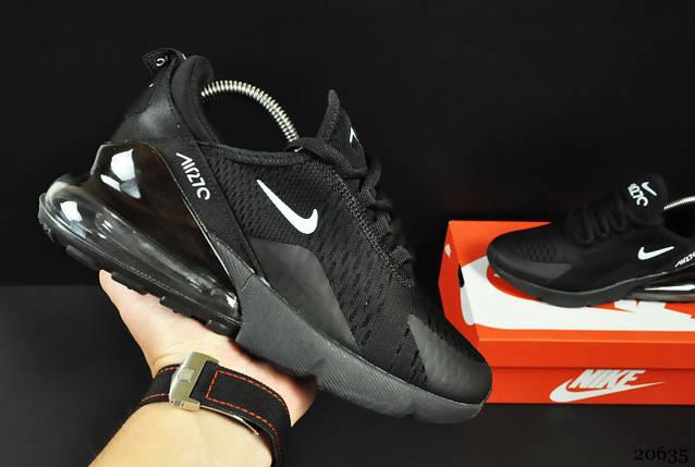 Кроссовки Nike Air Max 270 арт 20635 (черные, найк), фото 2