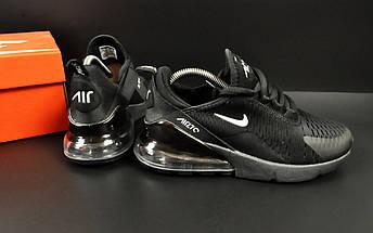 Женские Кроссовки Nike Air Max 270 арт 20635 (черные, найк), фото 2