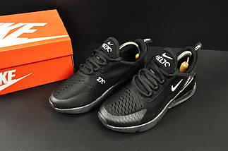 Кроссовки Nike Air Max 270 арт 20635 (черные, найк), фото 3