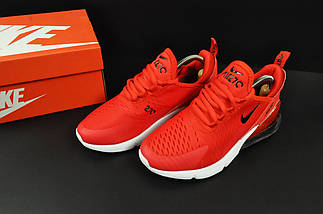 Кроссовки Кроссовки Nike Air Max 270 арт 20634 (женские, красные, найк), фото 3