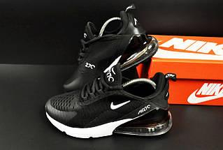 Женские Кроссовки Nike Air Max 270 арт 20633 (женские, черные, найк), фото 2