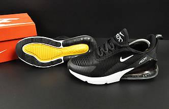 Кроссовки Nike Air Max 270 арт 20633 (женские, черные, найк), фото 3