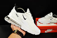 Кроссовки Nike Air Max 270 арт 20631 (женские, белые, найк)