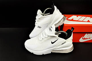 Женские Кроссовки Nike Air Max 270 арт 20631 (женские, белые, найк), фото 2