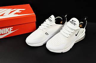 Женские Кроссовки Nike Air Max 270 арт 20631 (женские, белые, найк), фото 3