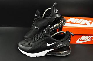 Мужские Кроссовки Nike Air Max 270 арт.20626 (мужские, черные, найк), фото 2