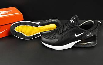 Кроссовки Nike Air Max 270 арт.20626 (мужские, черные, найк), фото 3