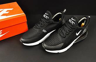 Мужские Кроссовки Nike Air Max 270 арт.20626 (мужские, черные, найк), фото 3