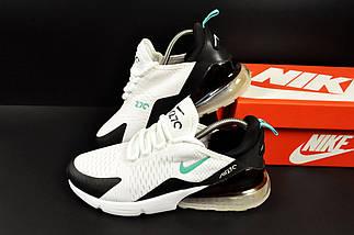 Кроссовки Nike Air Max 270 арт.20623 (мужские, белые, найк), фото 2
