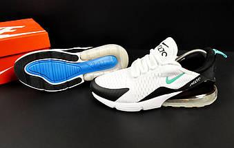Кроссовки Nike Air Max 270 арт.20623 (мужские, белые, найк), фото 3