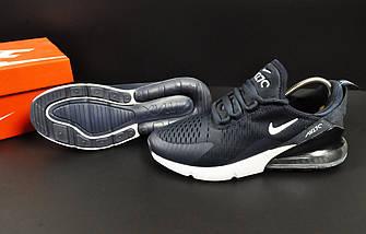 Мужские Кроссовки Nike Air Max 270 арт.20622 (мужские, синие, найк), фото 3