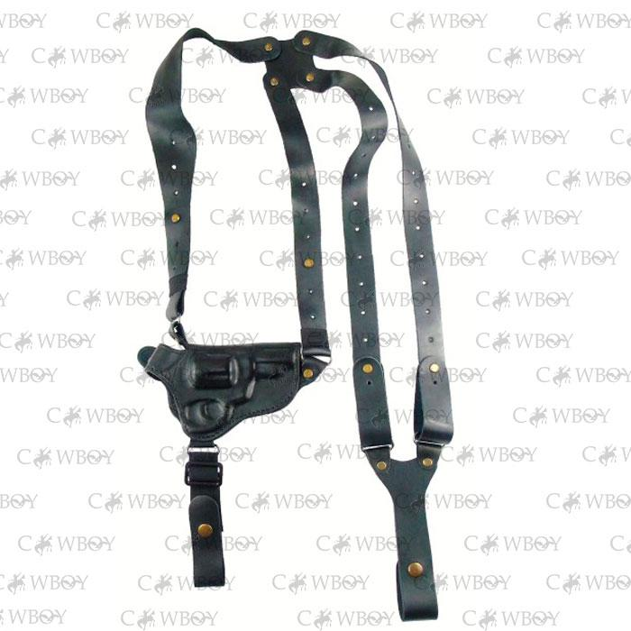 Медан 1007 Кобура оперативная револьвер 3 кожаная формованная с кожаным креплением