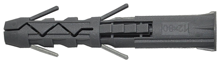 Дюбель потрійного розпору з комірцем 16х100, поліпропилен, КПО