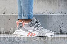 """Женские кроссовки adidas Equipment Bask ADV """"Grey Two / Ftwr White"""" AC7351 Адидас серые, фото 2"""